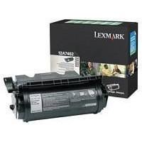 Lexmark Laser Toner Cartridge Return Program Page Life 21000pp Black Ref 12A7462