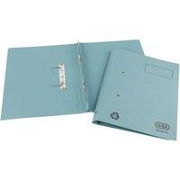 Elba Spirosort Transfer Spring File Recycled 315gsm 35mm Foolscap Blue