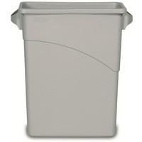 Rubbermaid Slim Jim Container Colour Grey Capacity 60 litre