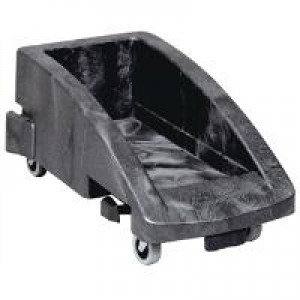 Rubbermaid Slim Jim Trolley for Recycling Max Load 136.1kg W381xD595xH275mm Black Ref 3551-88-BLA