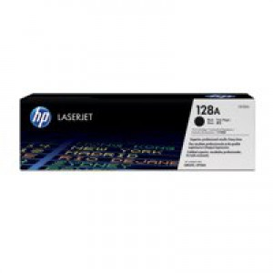 HP No.128A Laser Toner Cartridge Black Code CE320AD Pack 2