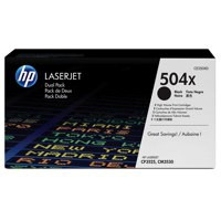 Hewlett Packard [HP] No. 504X Laser Toner Cartridge Page Life 2x10500pp Black Ref CE250XD [Pack 2]
