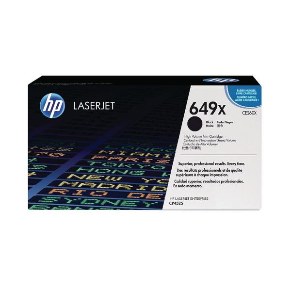 HP No.649X Laser Toner Cartridge Black Twin Pack Code CE260XD