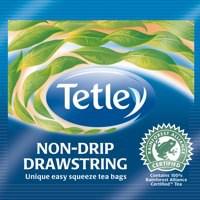 Tetley Drawstring Black Teabags Pack 25 Code 1298