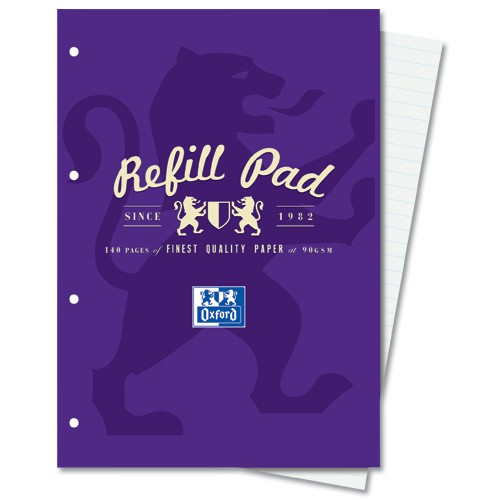 A4 Refill Pad Ruled With Margin Code 400013925