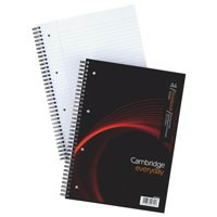 Cambridge EveryDay Notebook Wirebound 100 Pages 80gsm A4 Ref 400020193 [Pack 5]