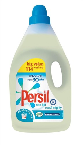 Persil Small and Mighty Washing Detergent Liquid Non Bio 115 Washes 4 Litre Ref 7517771