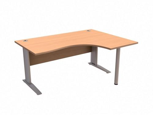 SonixPrem Cant 1600RH Rad Desk Bch