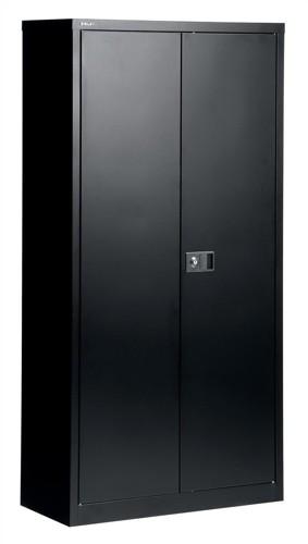 FTrexus Cupboard 72in Black 2 Door