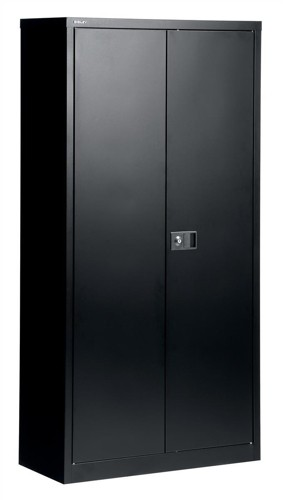 Trexus Cupboard 72in Black 2 Door