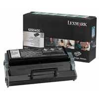 Lexmark Return Programme Toner Cartridge Black 12S0400