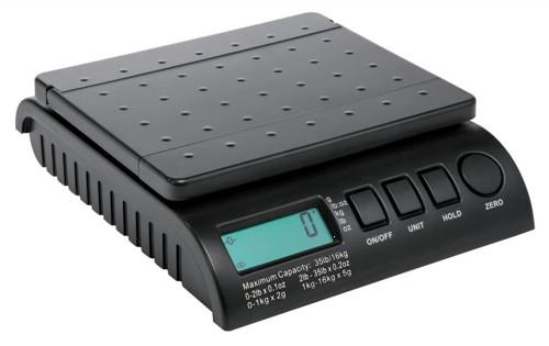 Postship Multi Purpose Scale 2g Increments Capacity16kg Black Code PS160B
