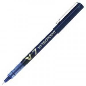Pilot V7 Hi-Tecpoint Ultra Rollerball Pen 0.5mm Line Blue V703