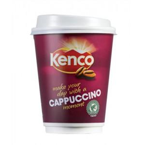 Kenco 2 Go Cappucino Pack 8 12oz Code A03289
