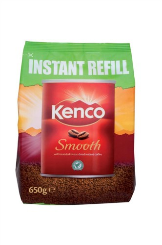 Kenco Smooth Coffee 650g Refill Pack Code A03298
