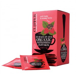 Clipper Org Red Frts Aronia Tea Env Pack 25 Code A07614
