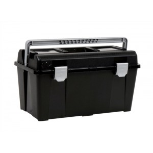 Raaco 19 Inch Toolbox with Removable Tray Black Code T33 715164