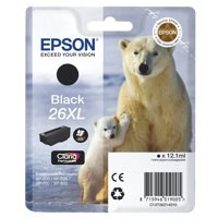 Epson 26XL Ink Cart Black T26214010