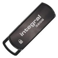 Integral 360 Secure Flash Drive USB 2.0 32GB Ref INFD32GB360SECV2