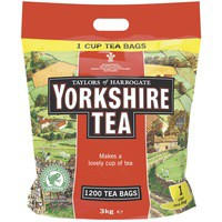 Yorkshire Tea Teabags Pk1200 A07414
