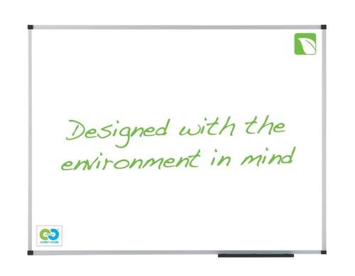 Nobo E-Classic Whiteboard Drywipe Board Enamel Magnetic W900xH600mm Ref 1903756
