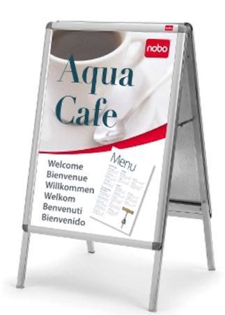 Nobo A Frame A1 Aluminium Code 1902206