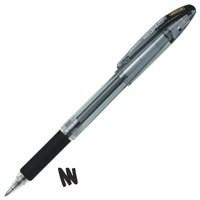Zebra Jimnie Rollerball Gel Ink Pen Medium Black Ref 11651 [Pack 12]