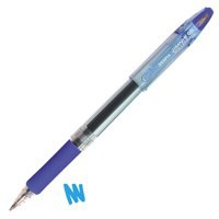 Zebra Jimnie Rollerball Gel Ink Pen Medium Blue Ref 11652 [Pack 12]