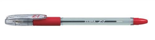 Zebra Z1 Smooth Ball Pen Medium 0.7mm Red Pack 12 Code 24162