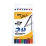 Bic Velleda Whiteboard Marker 1721 Pouch 8 Assorted Code 1199005728