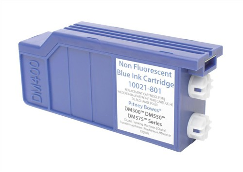 Pitney Bowes Compatible Blue Ink Cartridge DM500