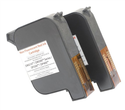 Pitney Bowes Compatible Red Ink Cartridge DP200