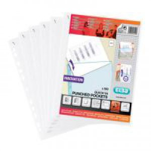 Elba PPkt QK IN-A4 7.5 Clear Pack 100