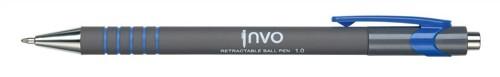 Ball Pen Retractable Tip 1.0mm Line 0.5mm Blue Ref KB3096001.0Blu [Pack 12]