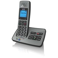 BT Graphite 2500 DECT Single Pack Cordless Telephone with Answering Machine Code 66558
