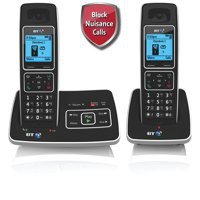 BT Synergy 6500 Twin Pack Cordless Telephones with Answer Machine Code 66267