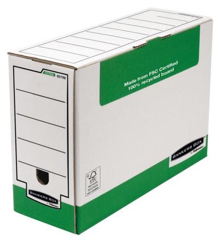 Fellowes Panda Transfer File Foolscap W366xD103xH258mm Ref 1179201 [Pack 10]