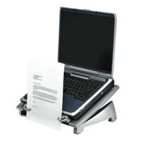 "Fellowes Office Suitesâ""¢ Laptop Riser Plus with inline copyholder"