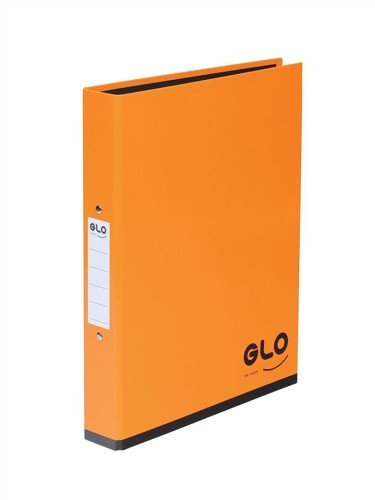 GLO Ring Binder A4 Orange