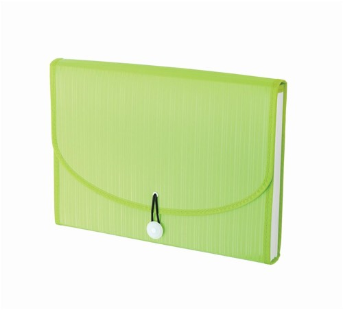 GLO 1027 Expanding File - 12 Part Green