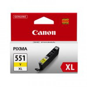 Canon CLI-551 XL Yellow Ink Cartridge Code 6446B001