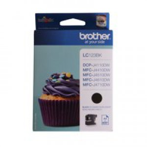 Brother LC123 Black Ink Cartridge Code LC123BK