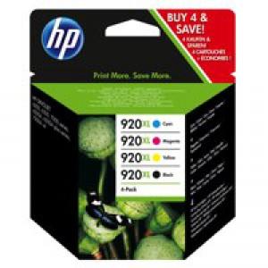 HP No.920XL Ink Cartridges Combo Multi-Pack 4 Code C2N92AE