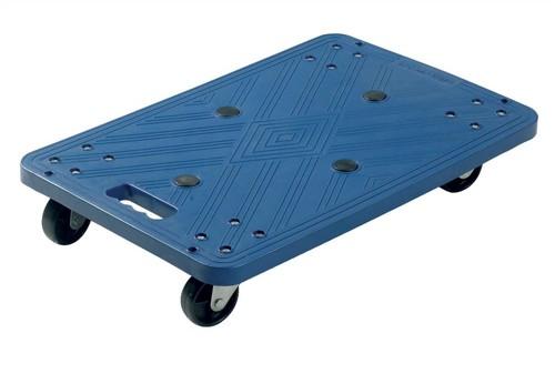 Plastic Dolly 100kg Capacity Blue Code BPD/P