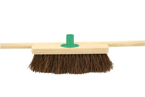 Bentley 24 inch Stiff Bassine Broom with Handle & Bracket Code SPC/H12BKT/C4