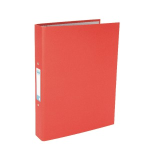 Elba 2 Ring Binders A4+ Coloured Paper On Board Red