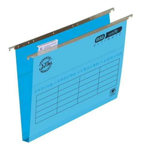 Elba Ultimate Suspension Files Foolscap 30mm Capacity Blue Pack 50
