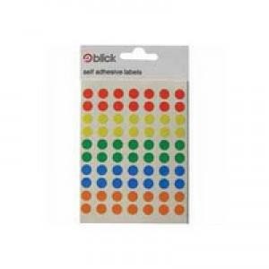 Blick 8mm Assorted Label Bag