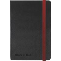Black by Black n Red A6 Notebook