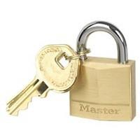 Image for Masterlock Padlock Brass 30mm 130EURD